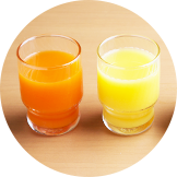 Vegetable and fruit juice・100% orange juice