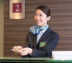 Our staff are mainly female who will provide the distinctively Japanese hospitality