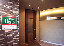 You will then find the main entrance to R&B Hotel Moriokaekimae.