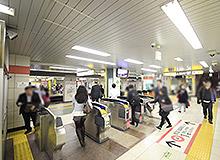 도영 아사쿠사선 히가시니혼바시 역