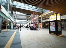 從JR仙台東口出來。